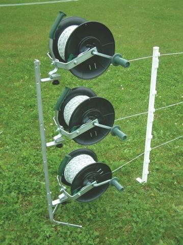 Haspelpfahl Multipfahl 120 cm für bis zu 3 Haspeln oder Getriebehaspel